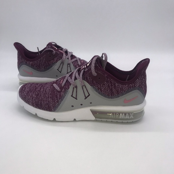 Nike Women's AIR MAX SEQUENT 3 Purple Shoes NWT